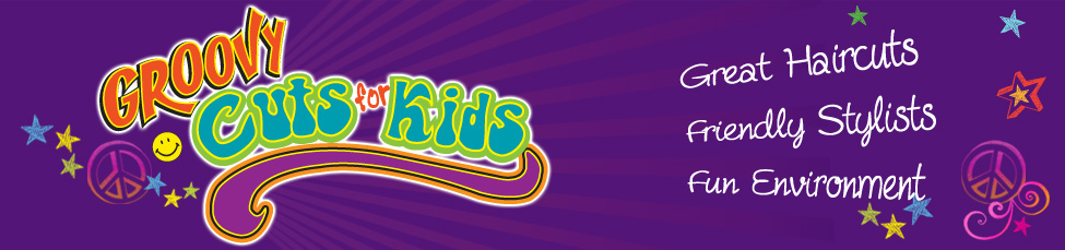 Groovy Cuts for Kids top banner